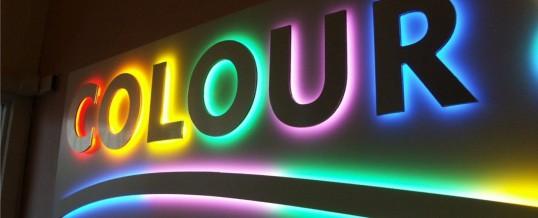 LEDs pantallas y letras de canal