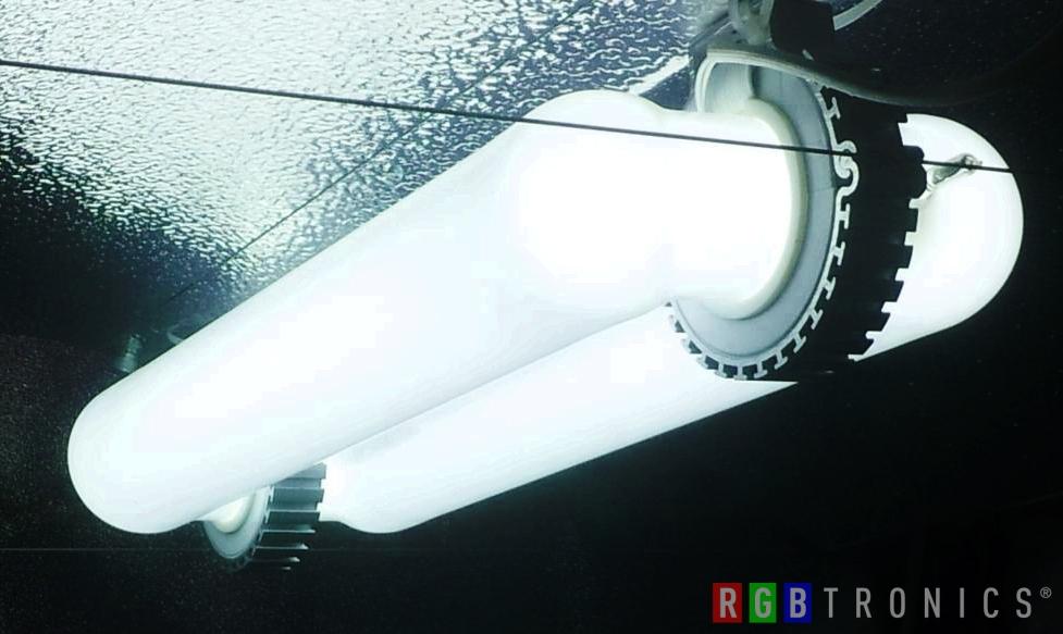 Iluminación inducción magnetica