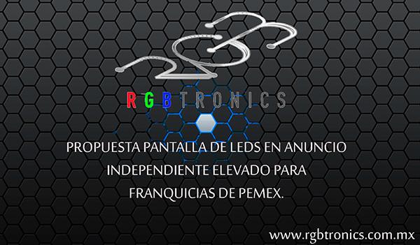 Presentacion Pantalla publicitaria gasolineras
